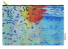 Carry-all Pouch featuring the painting Mother Nature At Her Best  by Chrisann Ellis