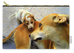 Mother's Affection Carry-all Pouch by Salman Ravish