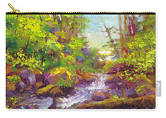 Mother's Day Oasis - Woodland River Carry-all Pouch