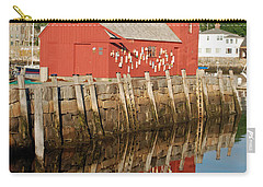 Carry-all Pouch featuring the photograph Motif 1 With Reflection by Richard Bryce and Family