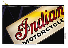 Motorcycle Sign Carry-all Pouch