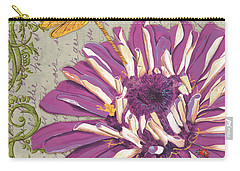 Moulin Floral 2 Carry-all Pouch by Debbie DeWitt