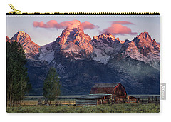 Carry-all Pouch featuring the photograph Moulton Barn by Leland D Howard