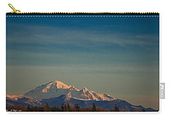 Mount Baker Sunset Carry-all Pouch by Charlie Duncan