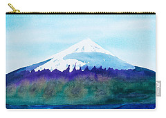 Mount Cleveland Chuginadak Carry-all Pouch by Frank Bright