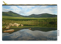 Carry-all Pouch featuring the photograph Mount Katahdin by Jeannette Hunt