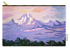 Mount Kenya At Dawn Carry-all Pouch