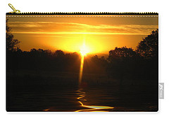 Mount Lassen Sunrise Gold Carry-all Pouch