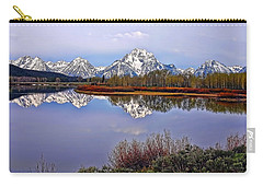 Mount Moran And Jackson Lake Carry-all Pouch by Gary Holmes