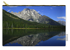 Mount Moran And String Lake Carry-all Pouch