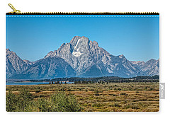 Mount Moran Carry-all Pouch by John M Bailey