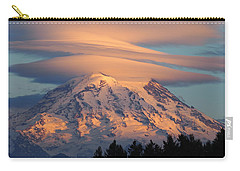 Mount Rainier In November  Carry-all Pouch