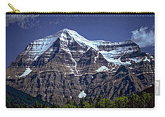 Mount Robson Carry-all Pouch by Richard Farrington
