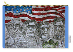 Mount Rushmore Carry-all Pouch by Kathy Marrs Chandler