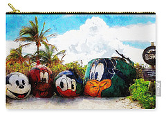Mount Rustmore Castaway Cay Carry-all Pouch