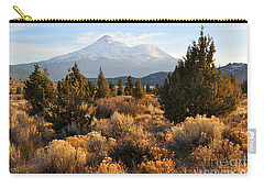 Mount Shasta In The Fall  Carry-all Pouch