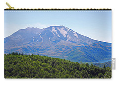Mount St. Helens And Castle Lake In August Carry-all Pouch by Connie Fox