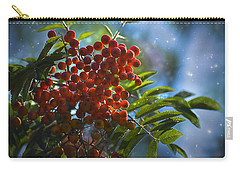 Carry-all Pouch featuring the photograph Mountain Ash by Yulia Kazansky