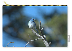 Mountain Bluebird Carry-all Pouch