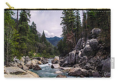 Mountain Emerald River Photography Print Carry-all Pouch