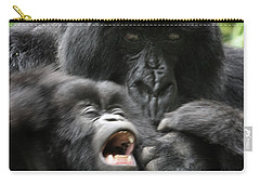 Mountain Gorilla Adf2 Carry-all Pouch by David Beebe