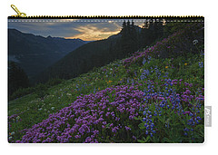 Mountain Heather Dawn Carry-all Pouch