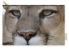 Mountain Lion Portrait 2 Carry-all Pouch