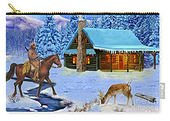 Mountain Man's Wilderness Carry-all Pouch by Glenn Holbrook