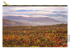 Mountain Mornin' In Autumn Carry-all Pouch by Lydia Holly