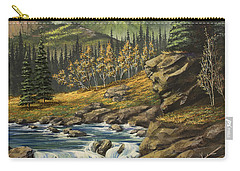 Mountain Of The Holy Cross Carry-all Pouch