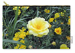 Carry-all Pouch featuring the photograph Mountain Rose by Janice Westerberg