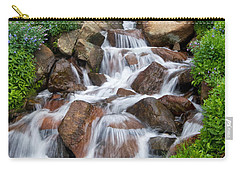 Carry-all Pouch featuring the photograph Mountain Stream by Ronda Kimbrow