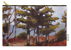 Mountain Top Pines Carry-all Pouch by Jason Williamson