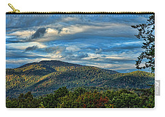 Carry-all Pouch featuring the photograph Mountain View by Kenny Francis