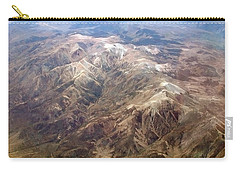 Carry-all Pouch featuring the photograph Mountain View by Mark Greenberg