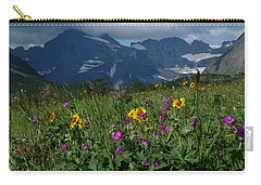 Mountain Wildflowers Carry-all Pouch by Alan Socolik