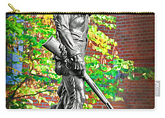 Mountaineer Statue Carry-all Pouch