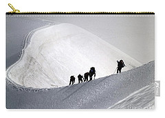 Mountaineers To Conquer Mont Blanc Carry-all Pouch
