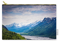 Mountains Along Seward Highway Carry-all Pouch