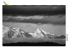 Mountains And Clouds Carry-all Pouch