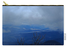 Mountains And Ice Carry-all Pouch by Daniel Reed