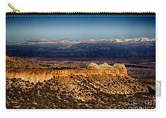 Mountains At Senator Clinton P. Anderson Scenic Route Overlook  Carry-all Pouch