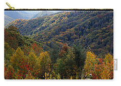 Mountains Leaves Carry-all Pouch