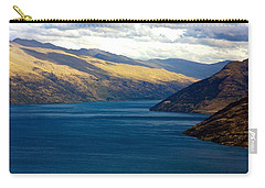Carry-all Pouch featuring the photograph Mountains Meet Lake #2 by Stuart Litoff