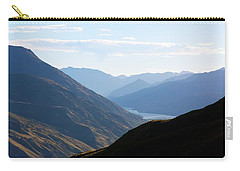 Carry-all Pouch featuring the photograph Mountains Meet Lake #3 by Stuart Litoff