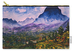 Mountains Of Pyrenees  Carry-all Pouch