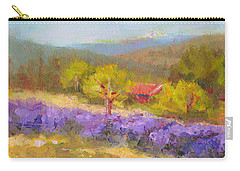 Mountainside Lavender   Carry-all Pouch