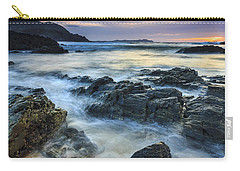 Carry-all Pouch featuring the photograph Mourillar Beach Galicia Spain by Pablo Avanzini