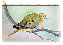 Mourning Dove Carry-all Pouch by Katherine Miller