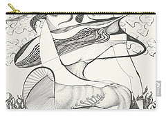 Mournings Past Carry-all Pouch by Melinda Dare Benfield